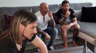 Messi recibió a Sampaoli en su casa, compartieron un almuerzo y hablaron de fútbol