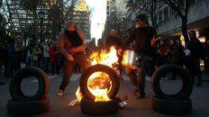 Los manifestantes exigieron la aparición con vida del joven Santiago Maldonado.