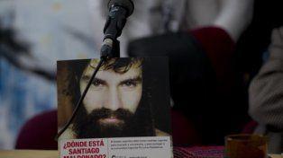 santiago maldonado. Militantes de derechos humanos piden la aparición con vida del joven platense.