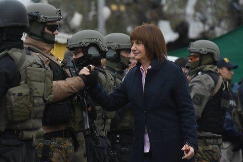 patricia bullrich. La ministra de Seguridad