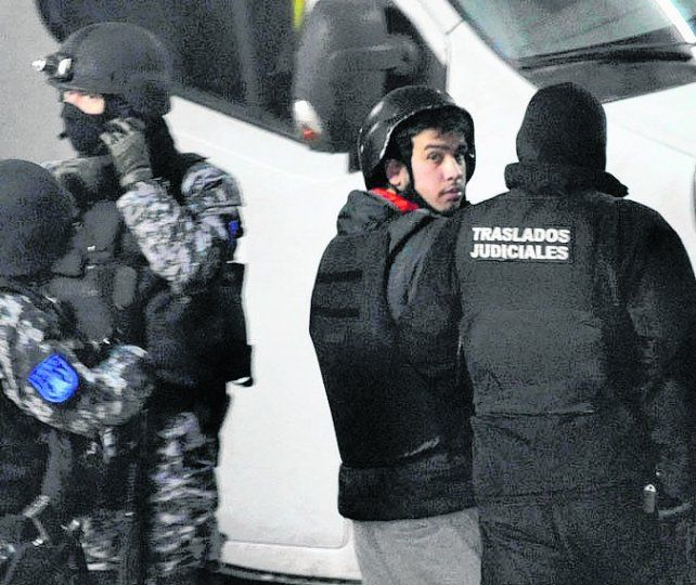 custodiado. Luego de ser detenido en Buenos Aires