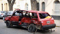 dio positivo el test de alcoholemia al conductor que mato a un automovilista en una picada