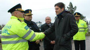 Foto de archivo. Hurt cuando fue puesto en servicio por el ministro Pullaro.