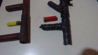 Las armas de fabricación casera
