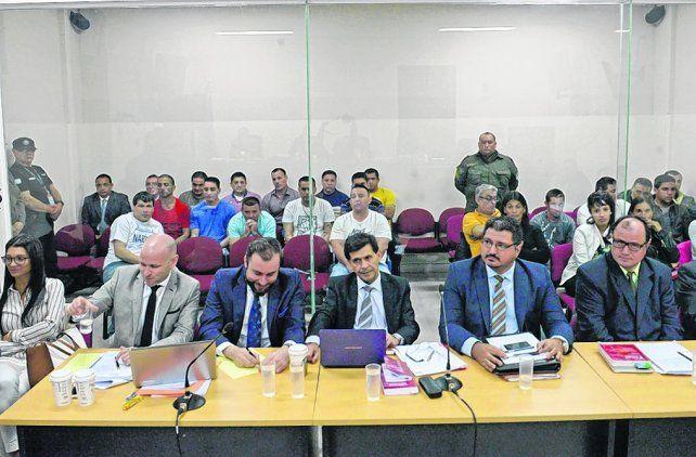 audiencia. Las defensas ayer hicieron preguntas durante dos horas a la fiscal Bettiolo en una tensa sesión.