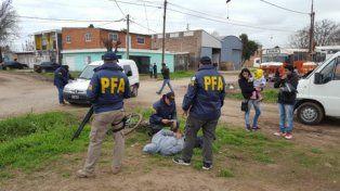 sin resistencia. El sospechoso fue apresado ayer por la Policía Federal.