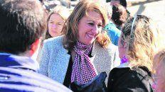 La intendenta rosarina Mónica Fein.