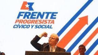 efusivo. Somos el Frente que lucha por el bienestar del pueblo.