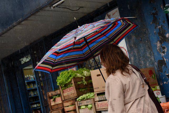 El Servicio Meteorológico Nacional prevé algunas lluvias para hoy.
