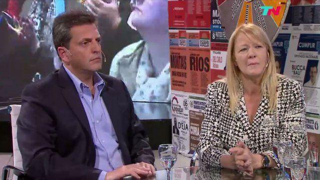 Massa y Stolbizer pidieron ponerle un límite al gobierno nacional