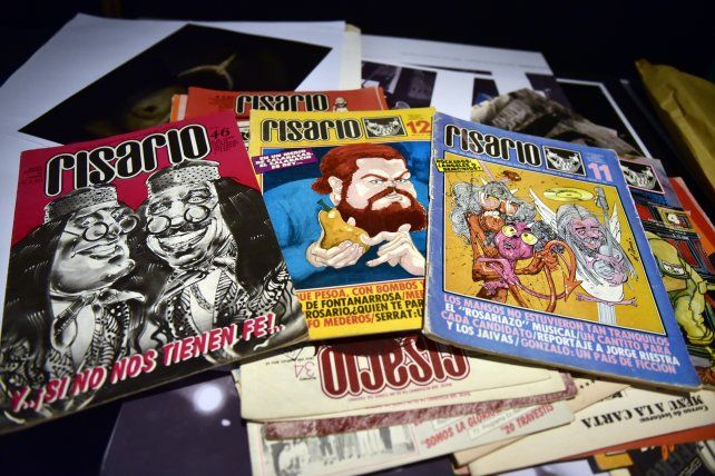 La revista Risario fue parte de la movida cultural de la ciudad. También presente en Rewind.