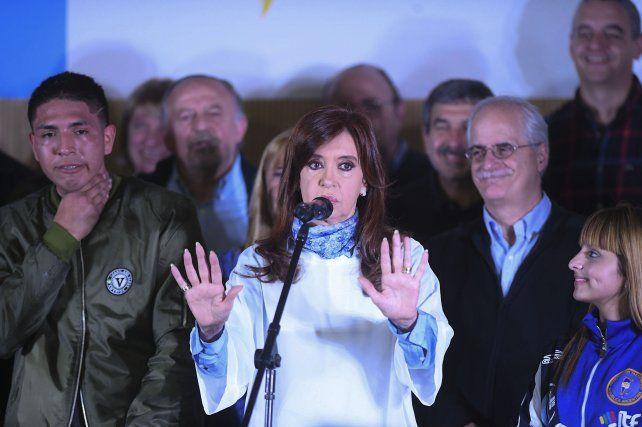 Cristina pidió que el voto sea muy claro para que el Gobierno entienda que así no se puede seguir