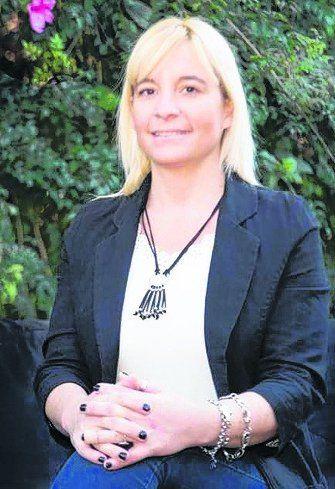 La precandidata Spagnoli.