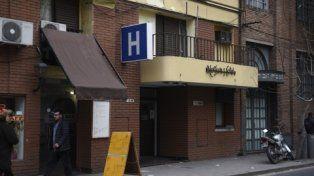 al mediodía. El violento episodio ocurrió ayer en el hotel Nogaré.