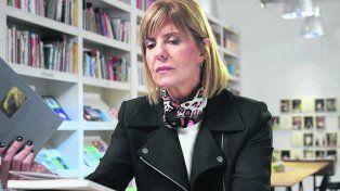 solidaridad. La ex jueza recibió el apoyo del gobernador Lifschitz.