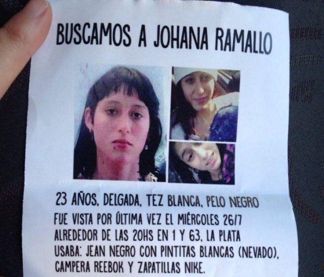 Buscan a Johana, una chica de 23 años que desapareció hace 15 días