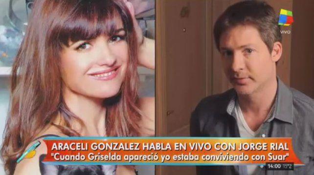 Araceli se decidió a contar las infidelidades, maldades y mentiras de Adrián Suar