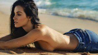 El topless de Oriana Sabatini sobre la arena levantó la temperatura en Instagram