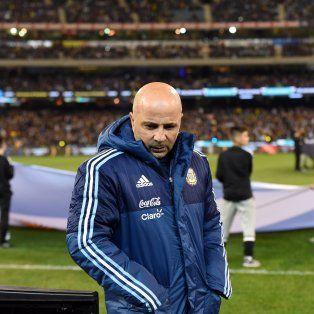 El casildense Jorge Sampaoli, entrenador del seleccionado argentino de fútbol.