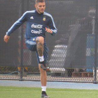 Mauro Icardi mostró su entusiasmo por volver a vestir la camiseta de la selección argentina.