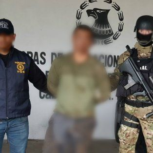 Detenido. El yerno de Ariel Cantero, otrora líder de Los Monos, fue arrestado esta tarde en Rosario.
