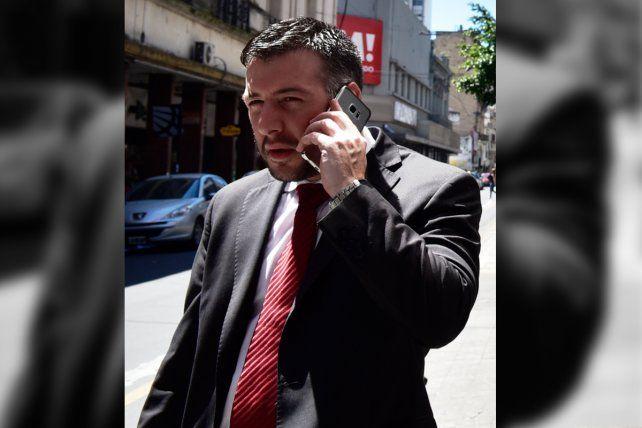 El fiscal. Rodrigo fue licenciado por irregularidades en escuchas telefónicas.