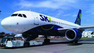 La aerolínea de bajo costo Sky inaugurará los vuelos baratos desde Rosario a Santiago de Chile.