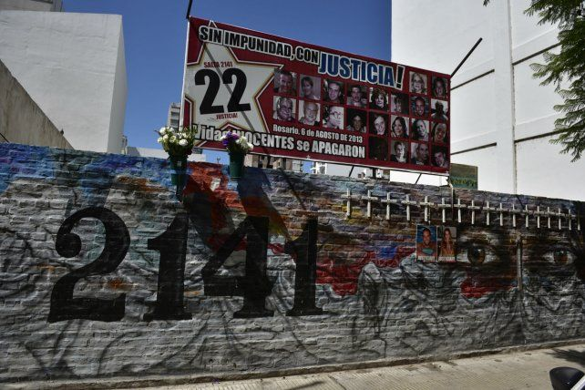 Ausencias. El sitio donde estaba emplazado el edificio que estalló el 6 de agosto de 2013.