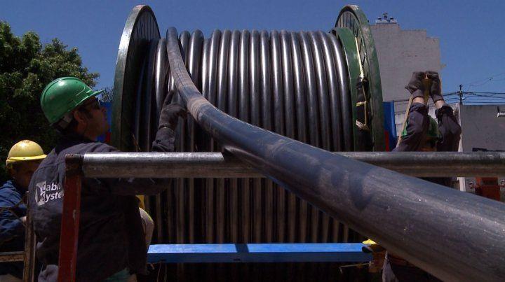 Cableado. Se van a comprar 22.767 metros de cable subterráneo.
