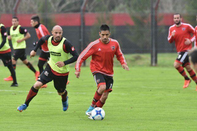 Figueroa avanza en una de las jugadas del partido que se jugó esta mañana en Bella Vista.