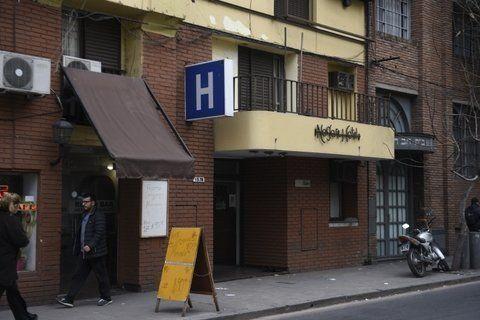 El hotel donde se produjo el ataque el jueves a la tarde.