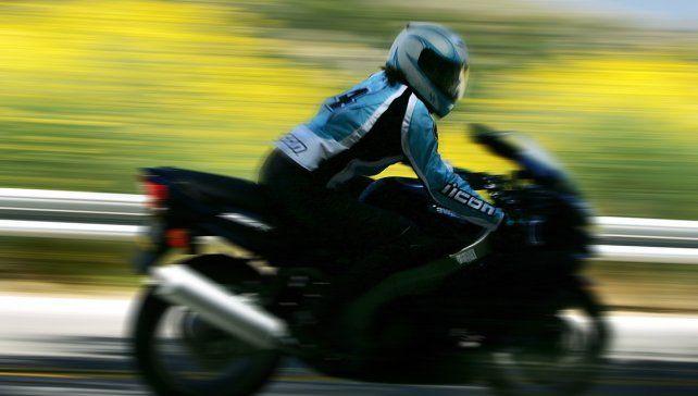 Alta velocidad. La insólita excusa de un motociclista sorprendió a la prensa española.