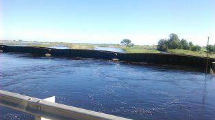 El canal San Antonio fue construido a principios de siglo XX y no se draga desde la década de 1960.