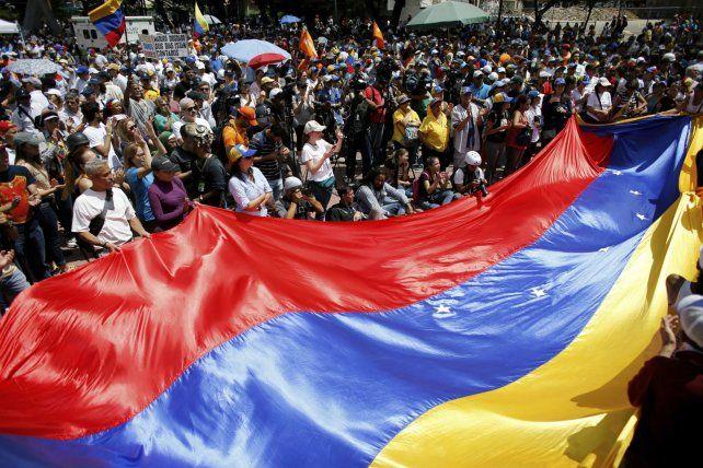 Marchas. La oposición volvió a manifestar en Caracas contra la recién instalada Asamblea Constituyente.