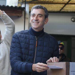 randazzo voto en una mesa presidida por su hijo de 16 anos y dijo que el resultado sera inapelable