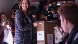 Vidal votó y dijo que no conoce otra forma de jugar en política que dejar todo en la cancha