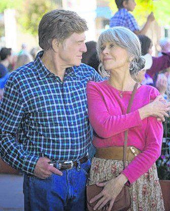 Robert Redford y Jane Fonda, juntos 50 años después