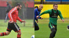 Mauro Guevgeozian es un clásico nueve de área.Marco Ruben es el emblema del equipo de Montero.
