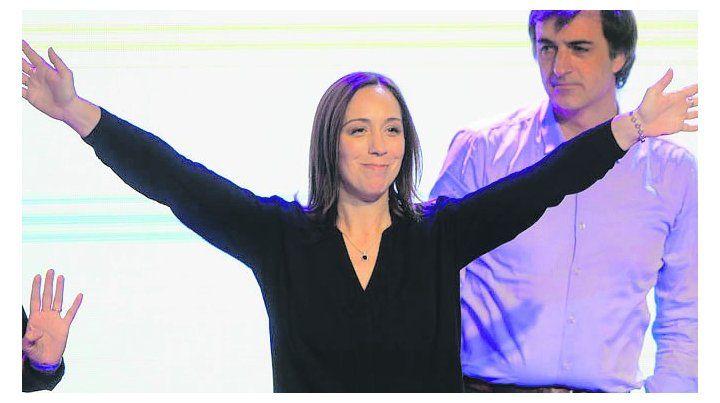 Apuro. Vidal se adelantó a mostrar una imagen triunfadora.