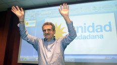 Rossi será el primer candidato a diputado en las elecciones generales de octubre.