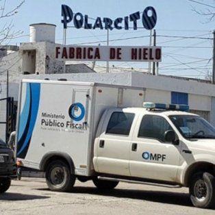 La imagen de la fábrica donde tuvieron lugar los asesinatos.