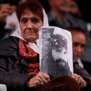 Tati Almeyda. La madre de Plaza de Mayo pide la aparición con vida.