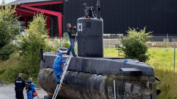 UC3 Nautilus. La cronista Kim Wall