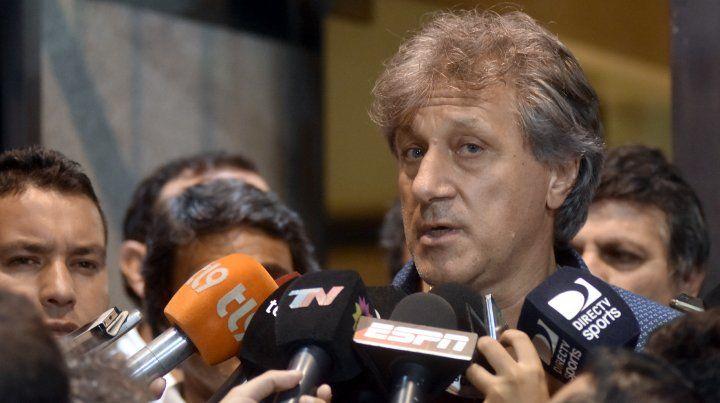 Marchi dijo que el problema de Newells es grande porque le debe a todo el mundo
