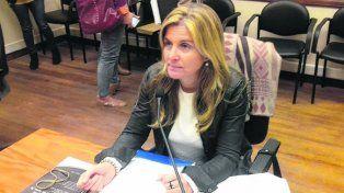 Acusadora. La fiscal santafesina Ana Laura Gioria formuló la imputación.