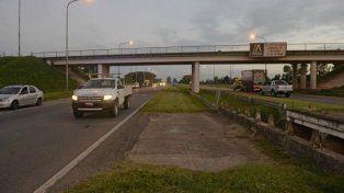Los ataques se registraron a la altura del kilómetro 16, cerca de la salida de Rosario.