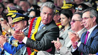 Viraje. El presidente ecuatoriano asumió en mayo pasado con una postura más moderada que Correa.