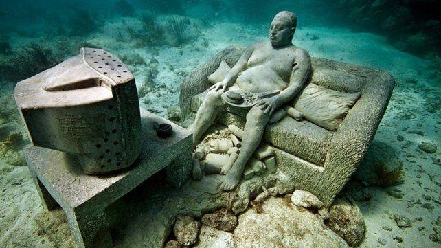 Museo de arte subacuático Isla Mujeres