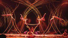 cirque du soleil hizo el anuncio oficial de que amaluna inicia en rosario su gira por el pais