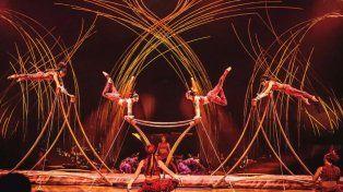 Cirque du Soleil hizo el anuncio oficial de que AmaLuna inicia en Rosario su gira por el país